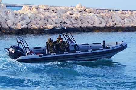 TAG-I-9.5N Boat Right Side