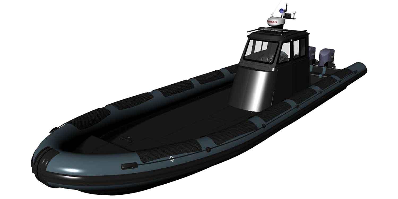 TAG I-12CG Military Boat