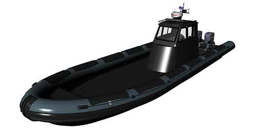 TAG Military Boat I-12CG Thumb