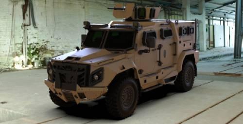BATT UMG Military Vehicle