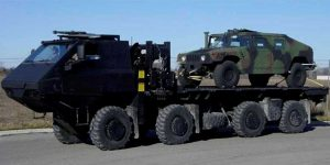 Great Dane Vehicle with Hummer