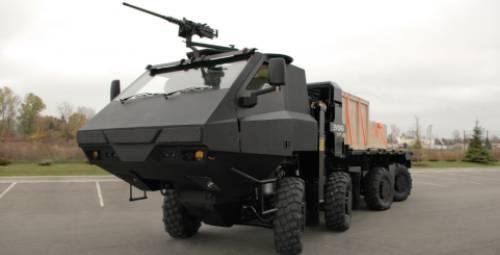 Great Dane Military Vehicle Thumb