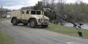 Husky Forward Grip Military Vehicle