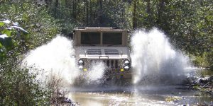 HUSKY Military Vehicle Off Road