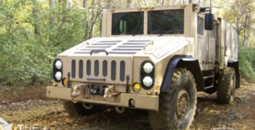 Husky Military Vehicle Lead