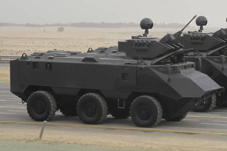 MASTIFF 6X6 Military Vehicle 1