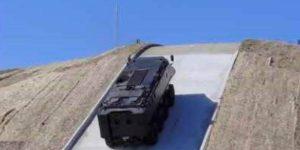 MASTIFF 8X8 Military Vehicle Ascending