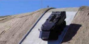 MASTIFF 8X8 Military Vehicle Descending
