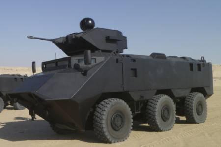 MASTIFF 6X6 Military Vehicle Right