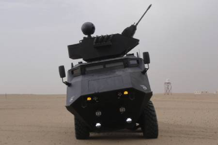 MASTIFF Military Vehicle CTR