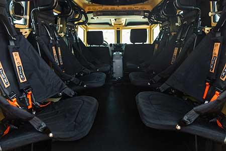 Terrier interior seats